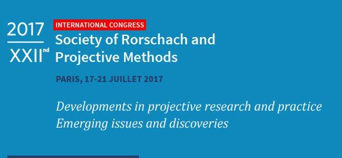 22. Uluslararası Rorschach Ve Projektif Yöntemler Kongresi