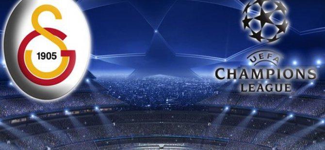 Galatasaray'ın UEFA Şampiyonlar Ligi Rakipleri