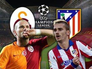 Galatasaray Atletico Madrid Maçının Sonucu