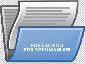 PDR Milli Eğitim Yayınları - Ücretsiz PDF Kitapları