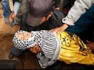 Filistinli çocuk ölmekten korkuyor