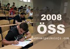 2008 ÖSS sınav sonuçları