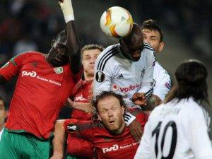 Beşiktaş: 1 - Lokomotiv Moskova: 1 Maç Sonucu