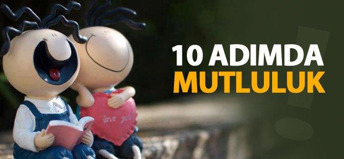 10 ADIMDA MUTLULUK