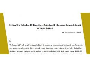 Türkiye'deki Dolandırıcılık Tipolojileri