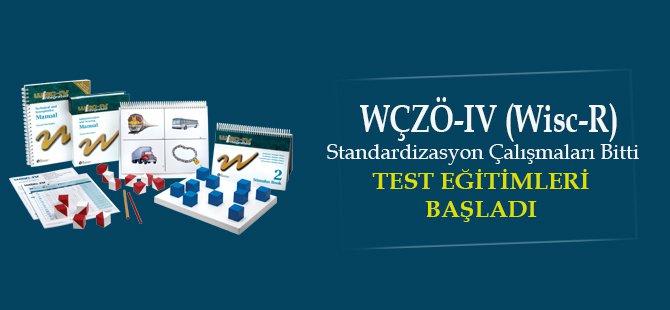 WÇZÖ-IV (Wisc-R 4) Test Eğitimleri Başladı