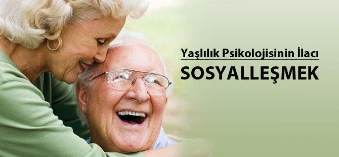 Yaşlılık Psikolojisinin İlacı 'Sosyalleşmek'