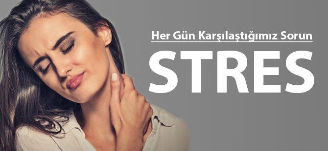 Her Gün Karşılaştığımız Sorun: Stres