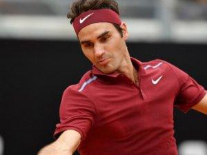 Federer, Roma'ya Veda Etti!