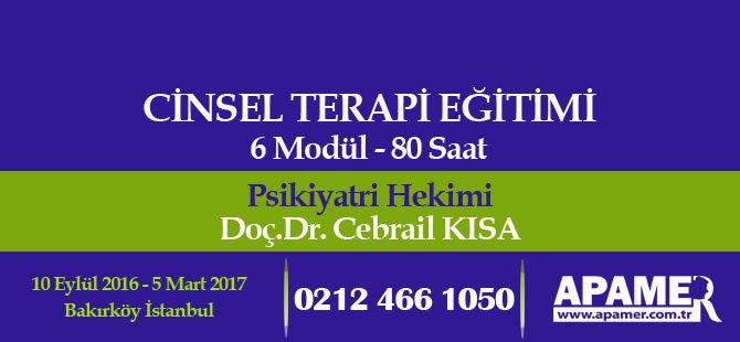 Cinsel Terapi Eğitimi - 2016-2017