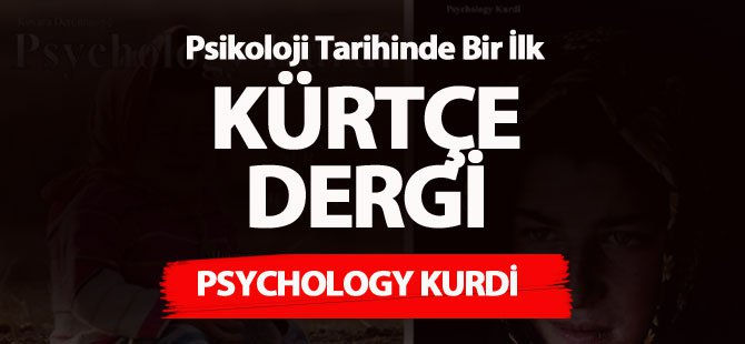 İlk Kürtçe Dergi Yayın Hayatına Başladı
