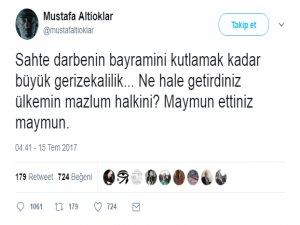Mustafa Altokların Hangi Twiti İçin Gözaltı Kararı Çıktı