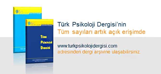 Türk Psikoloji Dergisi Arşivi