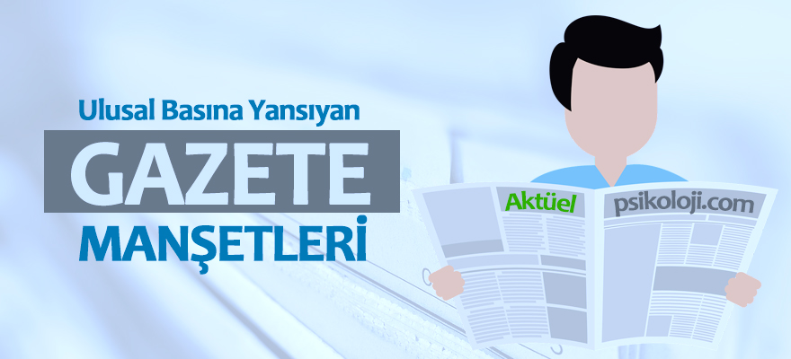 24 Mart 2018 Gazete Manşetleri