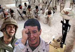 ABD askerlerini stres öldürüyor