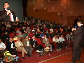 Prof. Üstün Dökmen Batı Trakyada Konferans Verdi