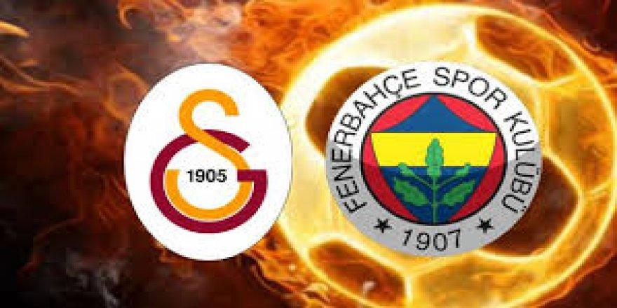 Türkiye Fenerbahçe-Galatasaray derbisi için 37 milyon liralık bahse girdi.