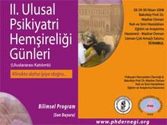 II. Ulusal Psikiyatri Hemşireliği Günleri
