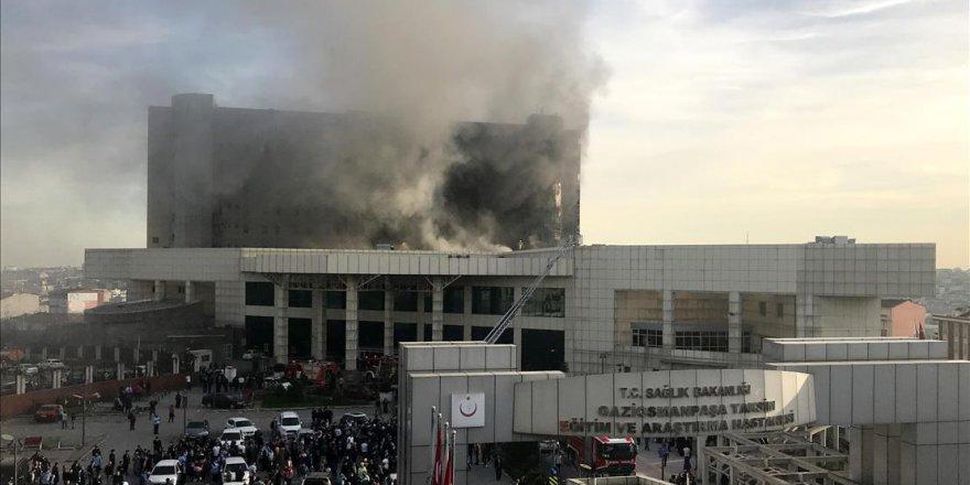 Taksim Araştırma Hastanesi'ndeki yangının nedeni 'alev alan su ısıtıcısı' iddiası