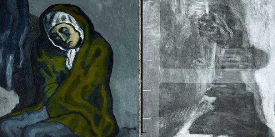 Picasso tablosunun altında gizli bir resim daha bulundu
