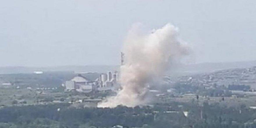 Ankara'da barut fabrikasında patlama