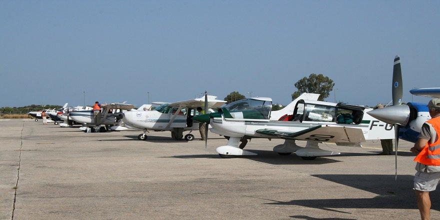 Rallye Aero France sportif havacılık rallisi 18 Uçağı ile Türkiye Semalarını Renklendirecek