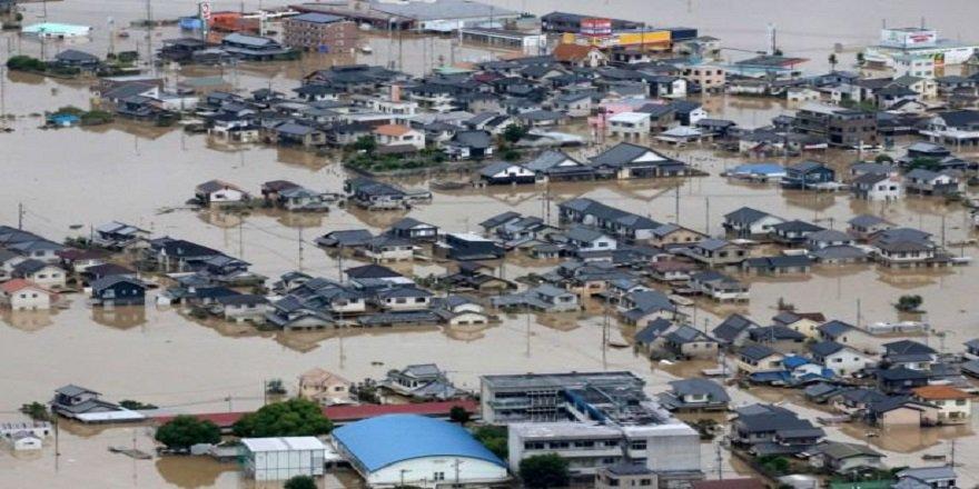 Japonya'da sel felaketi: En az 141 ölü