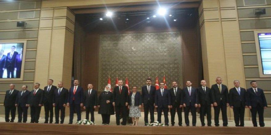Yeni kabine: Hulusi Akar Savunma Bakanı, Berat Albayrak Hazine ve Maliye Bakanı oldu