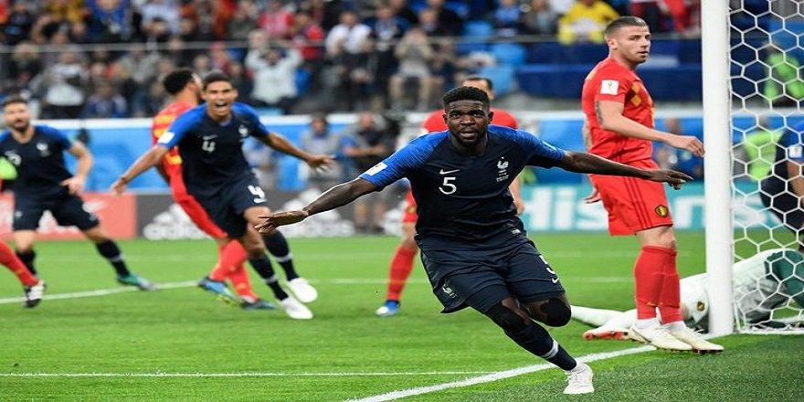 Dünya Kupası 2018: Fransa, Belçika'yı 1-0 yenerek finale çıktı