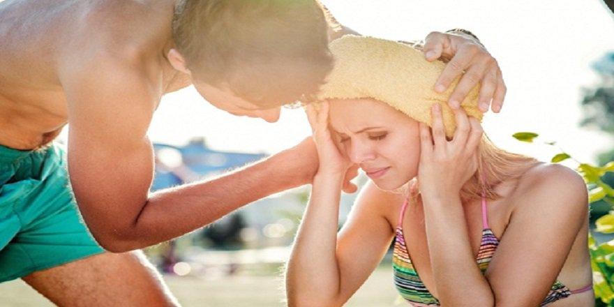 Güneş çarpmasına karşı alınması gereken önlemler