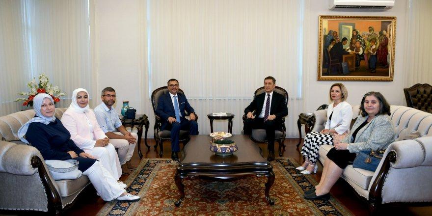 Türk PDR Derneği'nden Milli Eğitim Bakanına Ziyaret