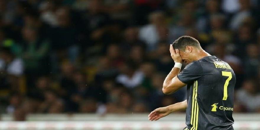 Cristiano Ronaldo gözyaşlarını tutamadı (Kariyerinde bir ilk)