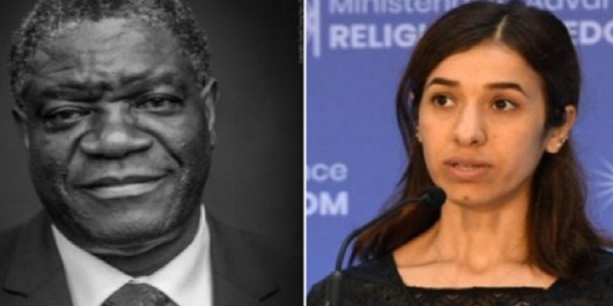 2018 Nobel Barış Ödülü'nün sahipleri açıklandı.