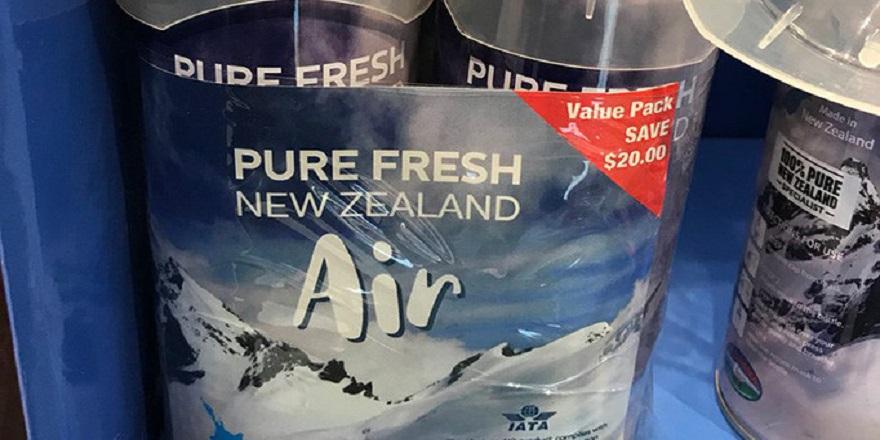 Teneke kutuda yaklaşık 100 dolara 'temiz hava' satılıyor