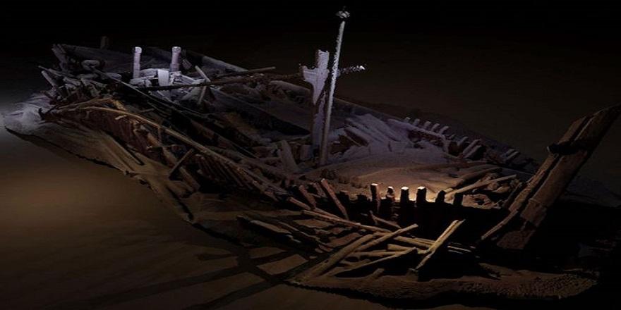 'Dünyanın en eski gemi enkazı' Karadeniz'de bulundu