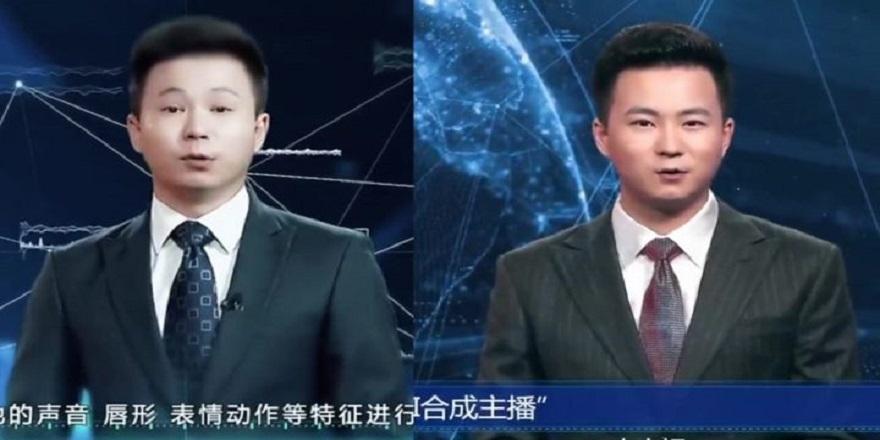 Dünyanın ilk 'yapay zeka spikeri' ekrana çıktı