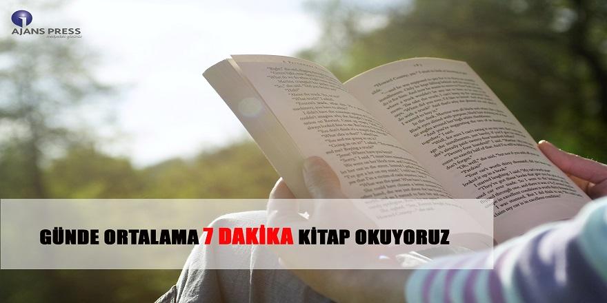 Günde Ortalama 7 Dakika Kitap Okuyoruz