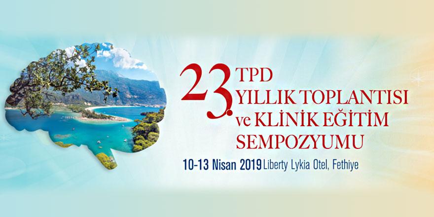 23. TPD Yıllık Toplantısı ve Klinik Eğitim Sempozyumu