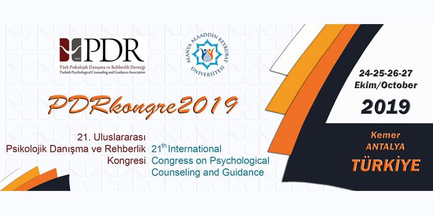 21. Uluslararası PDR Kongresi