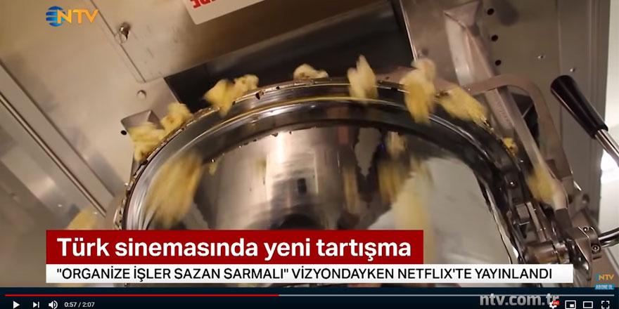 ''Organize İşler Sazan Sarmalı'' vizyondayken Netflix'te yayınlandı