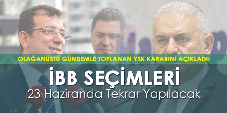 İstanbul Büyükşehir Belediye Başkanlığı Seçimleri İptal Edildi