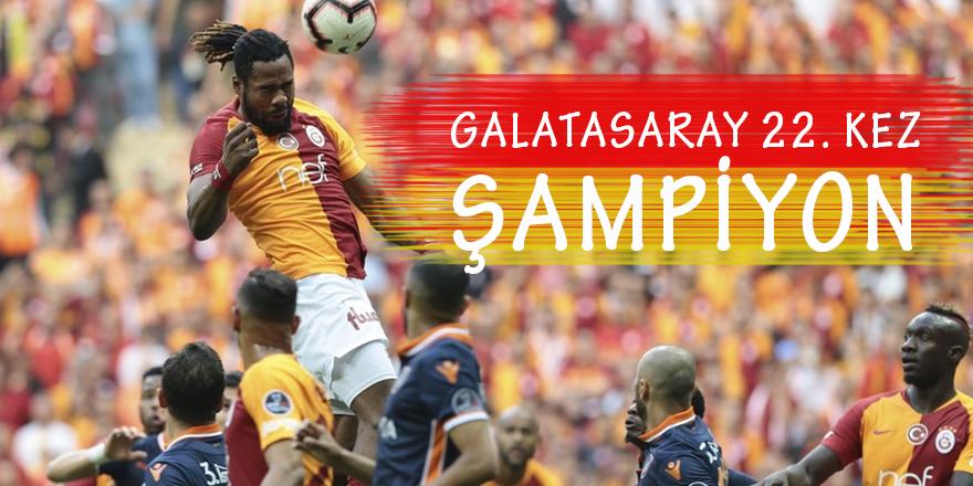 Galatasaray 22. Şampiyonluğa Ulaştı