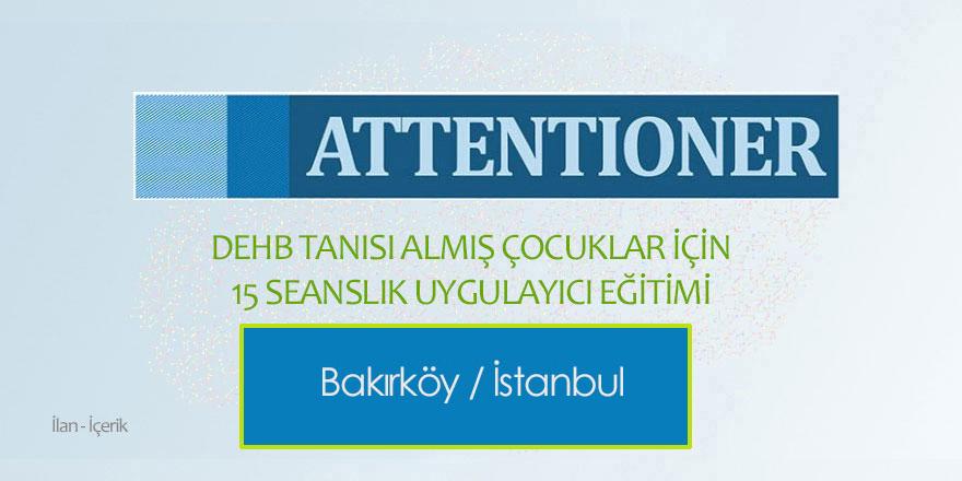 Attentioner DEHB Eğitimi - Dr. Hülya Bingöl