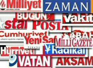 Gazete ve dergi satışları... (4-10 Ağustos)