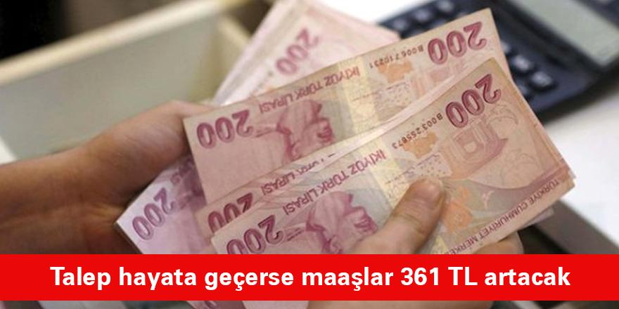 Ek ödeme oranı yüzde 10'a çıkarılırsa emeklilerin maaşları 59 ile 361 TL arasında artacak