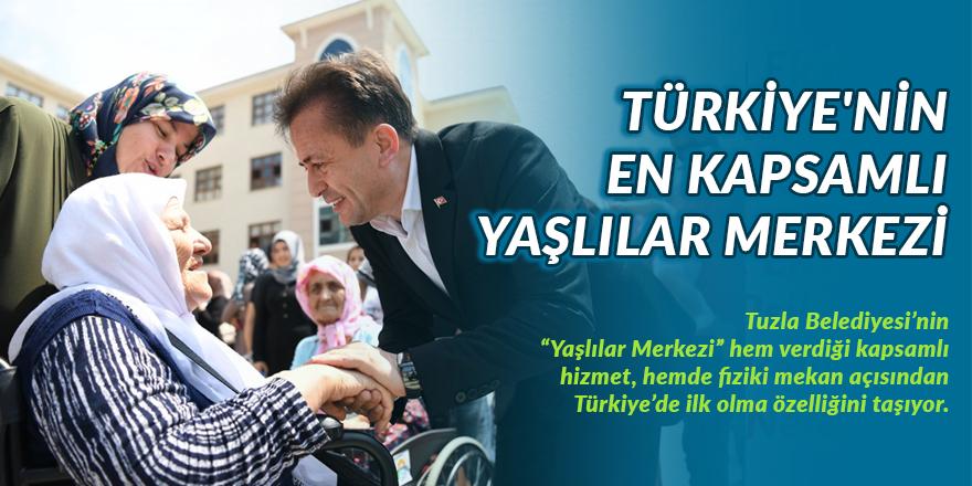 Türkiye'nin En Kapsamlı Yaşlılar Merkezi