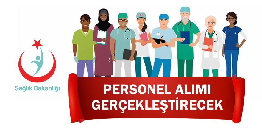 Sağlık Bakanlığı personel alımı gerçekleştirecek!