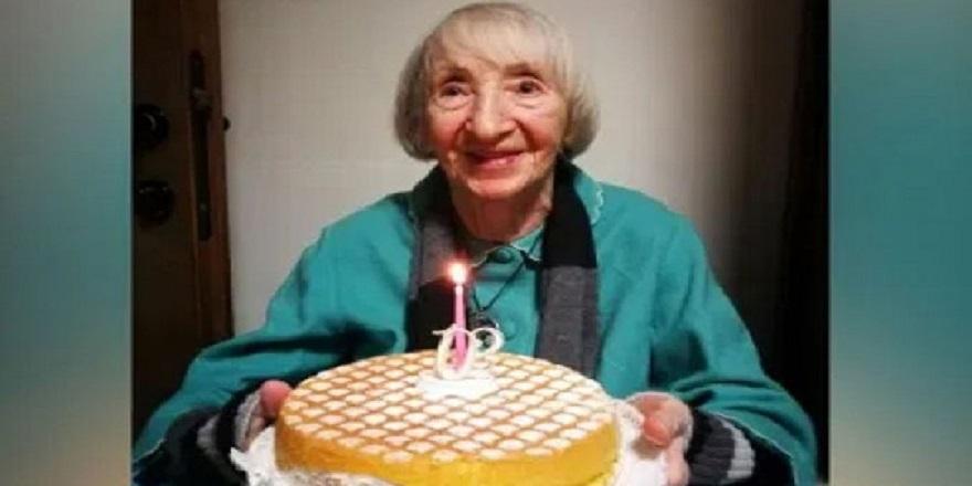 102 yaşındaki 'Lina Nine' corona virüsü yendi