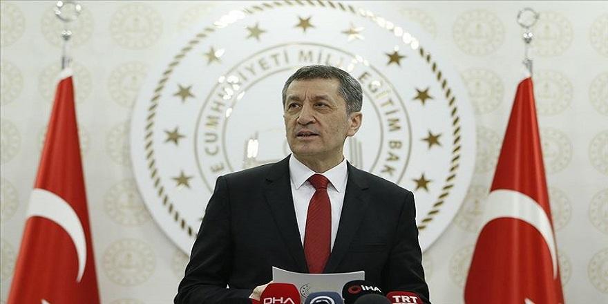 Milli Eğitim Bakanı Ziya Selçuk'tan önemli açıklamalar