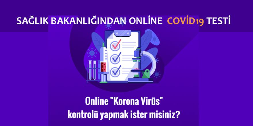 Korono Virüs Online Test